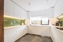 Radiant White Kitchen