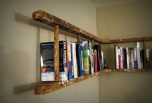 Bookshelf Bonanza / Dreams for ways to organize my books and knock knacks  / by Jennifer Evers of Me, Myself and Jen