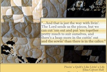 Life is Like Piecing a Quilt