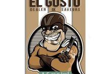 """EL GUSTO by DEALER DE SAVEURS / E-liquide T.... gourmand """"EL GUSTO"""" de la gamme DEALER DE SAVEURS...  Arôme aux notes de T.... et de dattes.  Falcon 10ml  Disponible en 0 - 1,5 - 3 et 6mg de nicotine/ml.  Fabriqué en France"""