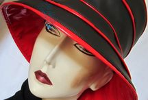 h - red red red red and red / woman accessory fashion, winter and summer