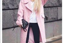 Образы: яркие пальто