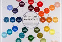 Fargelegging - Distress ink