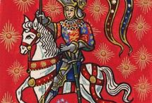 Medieval illustrations and art