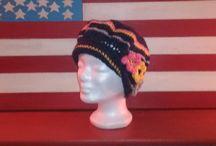 bonnets écharpes mitaines et ponchos par chely's création alittlemarket.com / créations au crochets de bonnets echarpes et mitaines