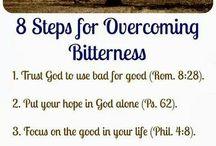 Overcoming bitterness