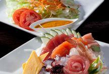 Sashimi and Sushi at Akashi Brickell / Sashimi and Sushi at the best Japanese restaurant in Brickell, Miami - Akashi Brickell