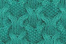 knitting, sewing