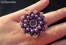 Bead patterns rings / by Annette Nolborn