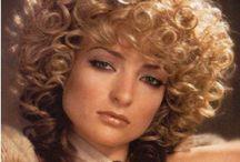Прически в стиле 80-х