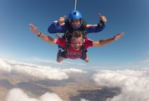 skydiving-parachuting / birthday diving / by Ron Lopez