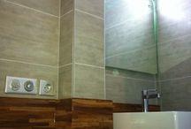 Salles de bains / Découvrez ici les salles de bains réalisées par la Société Augusto  #salledebain #sdb #societeaugusto