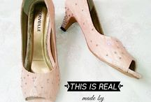 Real Made / Our real made collection where you can see the quality of our custom wedding shoes
