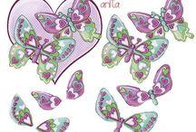 3d-Vlinders /