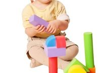 Wooden Blocks For Kids / Wooden building blocks for kids of all ages! Made in the USA. Natural wooden blocks that are safety tested and come in great storage buckets in bright colors. Many different types of wooden block sets to meet the needs of different ages, families and classrooms.