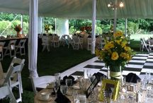 Tented Weddings at Brantwyn Estate / Enjoy outdoor nuptial celebrations set upon a beautiful Brandywine Valley backdrop.