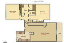 Floor Plans I & J- Unit 6