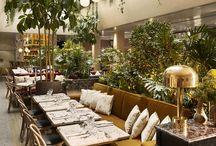 Paris Cafe Interiors