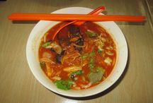 Cuisines du monde / Des photos des plats que j'ai goûtés au cours de mes voyages.