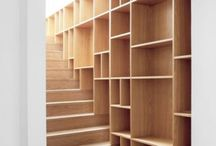 Книжные полки- лестницы