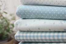 Текстиль / Ткани, кружево, ленты и различная фурнитура. Сочетание разных текстур, цветов, рисунков.
