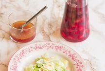Salater, dressinger og dip / Tilbehør til alverdens mad