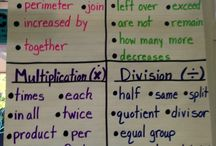 Anchor charts / by Sabrina Ferrer