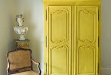 English Yellow - kolor tygodnia/colour of a week - Chalk Paint decorative paint by Annie Sloan