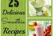 smoothies / by Rachel Wachowe