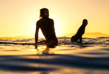 surf and sup / by Rastheartist