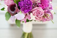 Spring Wedding Bouquets / Color Inspiration for lost brides to be.