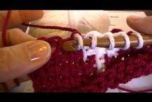 Tunisia crochet