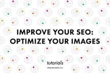 blogging : seo / seo is search engine optimization / by Sandee Jackson