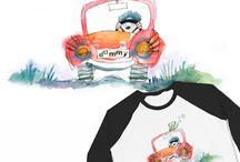 Дизайн футболок / Графический дизайн