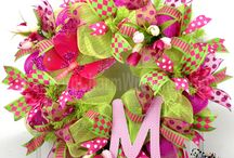 Wreath Inspirations / Ideas for wreaths...cute wreaths to make...