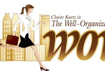 Organized Diva - WOW / Claire Kurtz is the owner and operator of the Well Organized Woman and has great ideas on how to get it together! An Organized Diva! / by Dating Diva