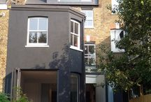 Architecture: Home : Rear Extensions / by Paul Kavanagh Studio