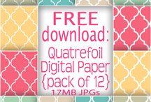 Printable Digital Paper (FREE)