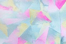 Floral patterns and papers / Decoração, tecidos e papéis