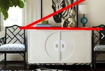 Styling a Console Table or Dresser or Buffet