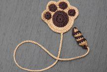 señaladores crochet
