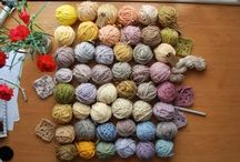 dying wool natural