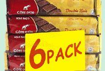 Chocolat côte d'or batons / Côte d'Or vous offre aussi une fabuleuse gamme de bâtonnets au chocolat Belge. Idéal comme en-cas au bureau ou à l'école. www.chockies.net
