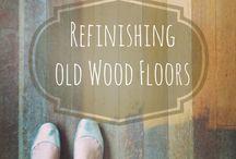Old wooden floors
