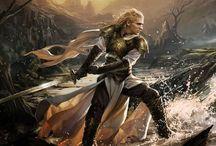 Elfos guerreros :)