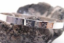 Bracelets Paola Naïa / Bracelets argent et plaqué-or