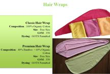I am Greeny Hair Wrap Range