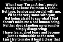 being an Aries is not so easy