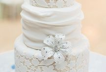 """Wedding Cakes / """"The most dangerous food is wedding cake"""" -James Thurber"""