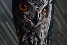 Tatting / Owl